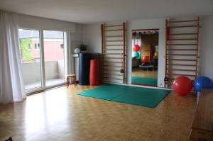Blick in die Praxis für Physiotherapie Meike Roording Düsseldorf-Angermund
